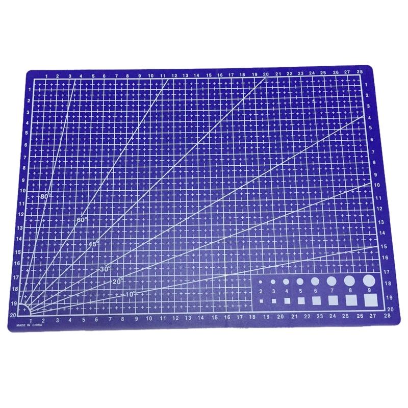 a4 Gitterlinien Schneidematte Craft Karte Stoff Leder Papier Board 30*22 Cm Blau Mit Traditionellen Methoden Zwischenablage Suche Nach FlüGen 10 Pack Notebooks & Schreibblöcke