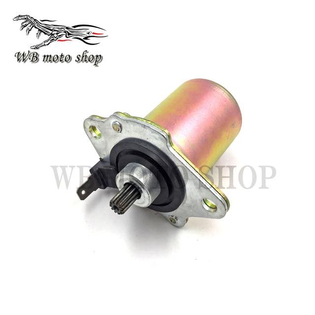 US $16 8 30% OFF|Electrical Engine Starter Motor For Dio50 AF18 AF28 ZX  50cc AF34 2 Stroke Scooter Honda DIO 50 Motorcycle ATV Go Cart Spare  Part-in