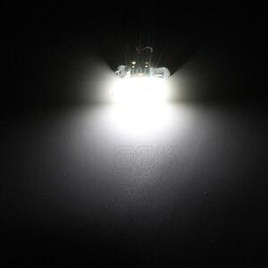 Image 5 - 100 sztuk W5W T10 15SMD 4014 led canbus nie błąd led T10 canbus W5W led światło bagażnika lampka drzwi led uniwersalny lampka do czytania