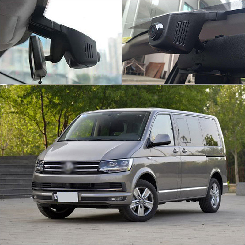 BigBigRoad Pour Multivan Lavida Caravelle Bora Sagitar Voiture Wifi DVR Enregistreur Caché l'installation G-capteur dash cam