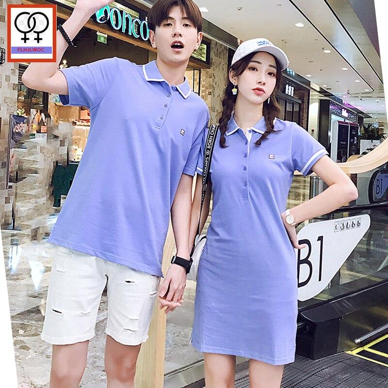 Couple Shirts Design Blue