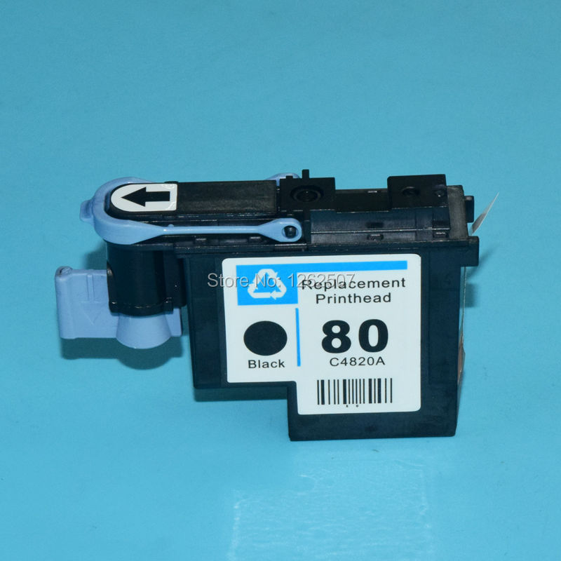 Black print head For hp 80 C4820A print printhead for hp 80 inkjet pro 1050 1055 1000 1000plus printer printing head genuine original printhead print head for wp4515 wp4520 px b750f wp4533 wp4590 wp4530 inkjet printer print head