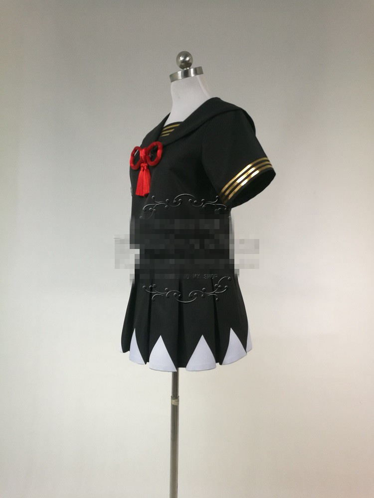 Alter FGO Cosplay Fate/Grand Orde Cosplay Okita Souji sailor school uniform cosplay costume 3