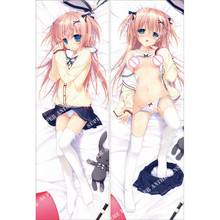 Japanese Anime Dengeki Moeoh Hugging Pillow Cover Case Pillowcases Decorative Pillows 50X160CM 2way