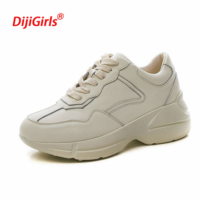 208cfddd8a5 up sneakers sneakers platform leather spring casual women fashion genuine  women brand shoes summer shoes lace ...