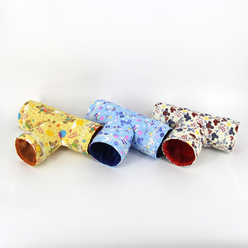 Mini Hamster Guinea Pig Tunnel Toy Pet Cages Hedgehog Tube Chinchilla House Cave Small Animals Pet Products Rat Mouse Funny Toy 2