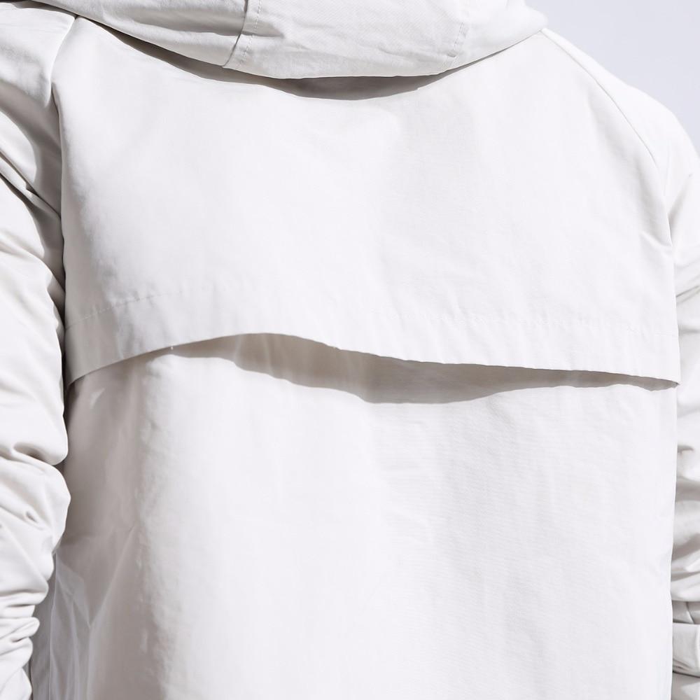 Plus size 5XL 6XL 7XL 8XL softshell dos homens da marca do revestimento do revestimento à prova d' água roupas com capuz preto casaco de primavera ocasional masculino blusão - 6