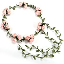 3flower / Banquet! Sele head headband hair accessories wedding Four Lal head wreath wedding Rose headband