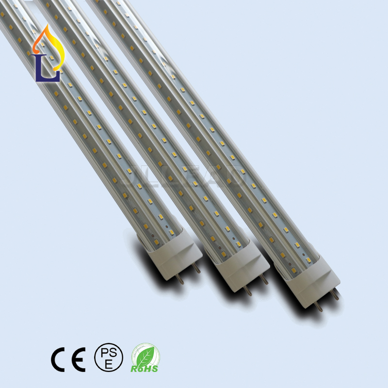 8ft 48w, 25 Pack 25pcs 8FT 48W T8 Tube Light White Daylight 6500k SMD2835 T8 LED Bulbs Household Lights Ballast Bypass Rotatable R17D Base 8 Foot Milky Cove Fluorescent Tube lamp Replacement