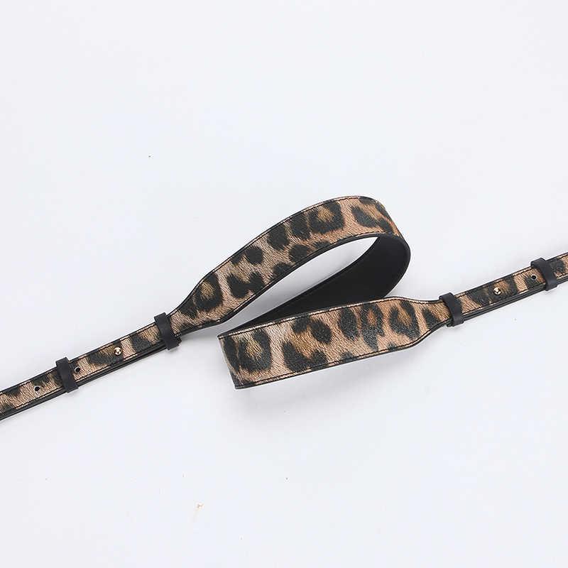 IMIDO 104-116 см длинный ремешок для сумки Сумка для женщин PU кожаный Сменный ремень на плечо ремень аксессуары леопардовая звезда красный STP117