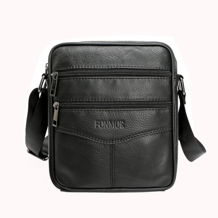 Men Messenger Bag Vintage Business Large Capacity Handbag Male Casual multifunction Small Crossbody Flap hangbag Bolsas #X ...
