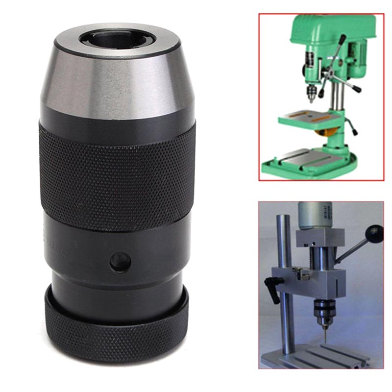 1-13mm B16 Lathe Self Tighten Light Duty Taper Drill Chuck for Power Tool --M25 optical instrument