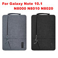 Креативный Дизайн Laptop Sleeve Чехол Для Samsung Galaxy Note 10.1 N8000 N8010 N8020 Мода Ручной Держатель Tablet PC Case Bag подарок