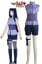 Free Shipping font b Naruto b font The movie The last Hinata Hyuga Ninja Uniform Anime