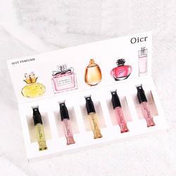 5 шт./компл. ароматизированных для Для женщин распылитель парфюмированный красивые посылка Parfums повелительница цветок фруктовый аромат с