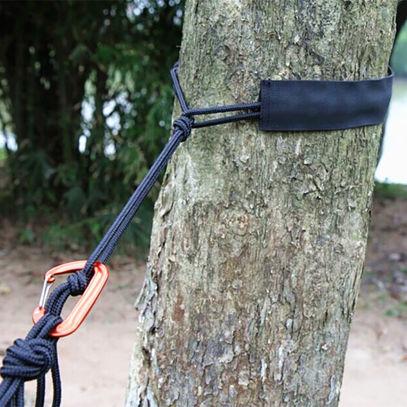 Outdoor Gadget Outdoor Hammock Tied Rope Sets Wear-resistant Ribbon Straps Tied Tree Protection Rope Sets Camping Equipment Tool