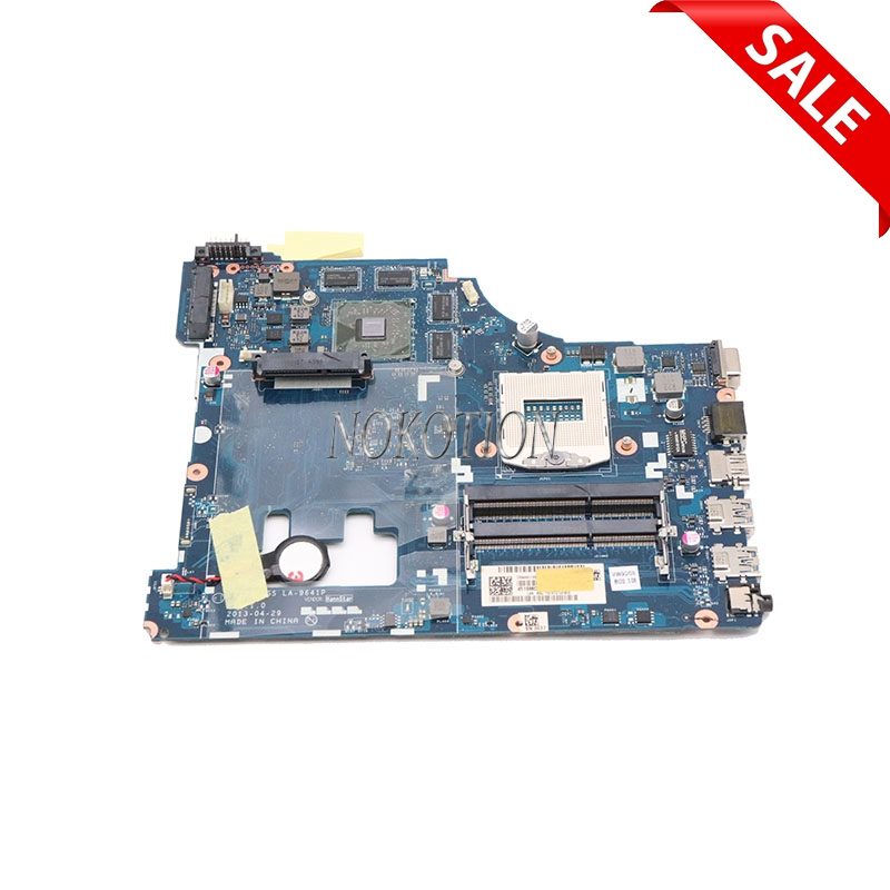 NOKOTION 11S90005735 Notebook PC Main Board For Lenovo ideapad G510 Laptop Motherboard VIWGQ LA-9641P Radeon R7 M265 graphicsNOKOTION 11S90005735 Notebook PC Main Board For Lenovo ideapad G510 Laptop Motherboard VIWGQ LA-9641P Radeon R7 M265 graphics
