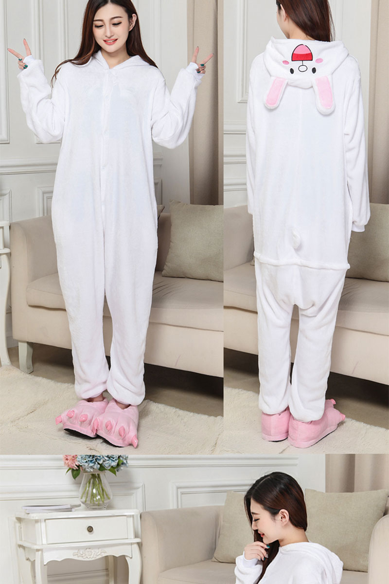 5Kigurumi Brown Bear Onesie Slippers Women Men Adult Animal Costume Cartoon Pajama Funny Festival Party Fancy Suit  (5)