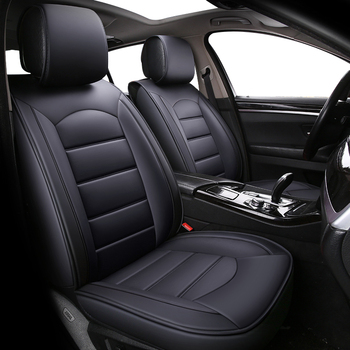 High Quality Leather car seat covers for Volkswagen vw passat b5 b6 b7 polo 4 5 6 7 golf Four seasons auto cushions styling