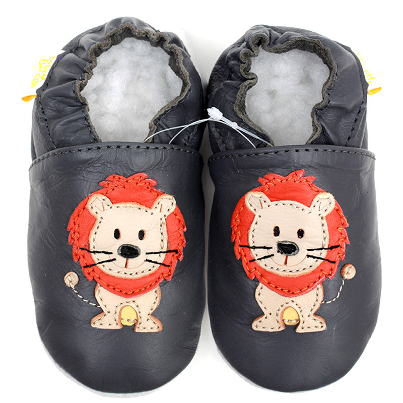 Baby Shoes Moccasins Slippers Toddler Newborn First-Walkers Girls The King Lion for Boys