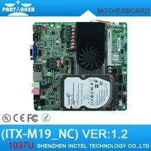 Dual HDMI Intel Celeron 1037U Thin Mini ITX HTPC Motherboard For AIO