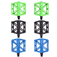 1pair Bicycle Pedal Aluminum Alloy Mountain Bike Pedals Road Cycling Sealed 3 Colors Pedals UltraLight Bike