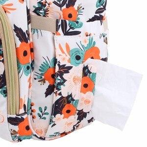 Image 5 - Yeni moda bebek bezi çantası sırt çantası büyük kapasiteli bebek çantası bezi çantası bebek bakımı annelik seyahat sırt çantası en kaliteli