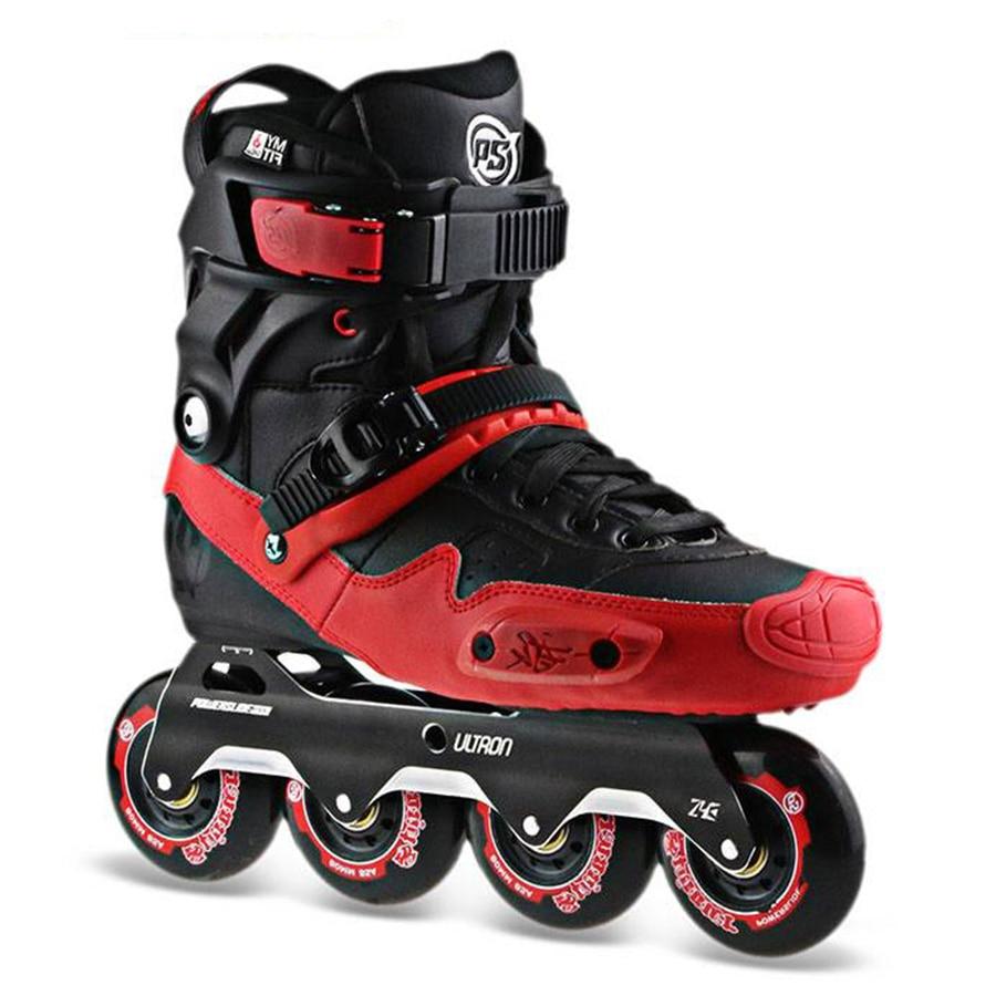 100% Original 2018 Powerslide Ultron Street Free Skating Inline Skates Urban Adult Roller Skating Shoes Sliding Patines Adulto