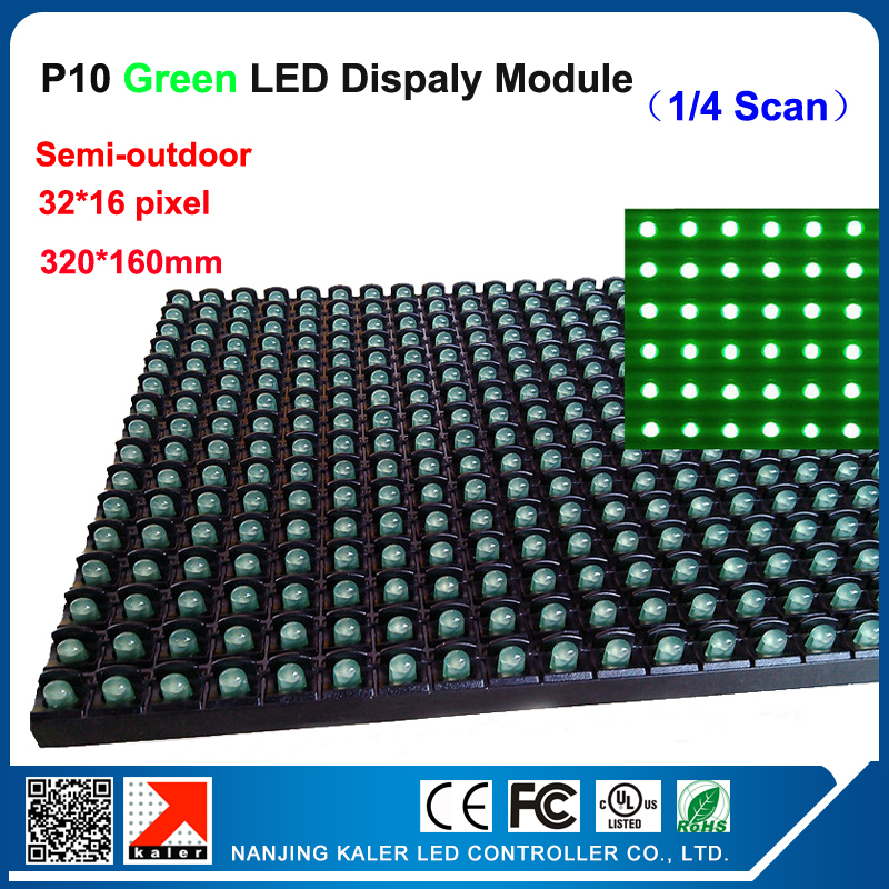 TEEHO DIP P10 Semi-outdoor green led module 32*16 pixel dots 10mm led display panel p10 module led display advertising panelTEEHO DIP P10 Semi-outdoor green led module 32*16 pixel dots 10mm led display panel p10 module led display advertising panel