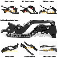 For Honda CBF125 CBF 125 2009 2013 2012 2011 2010 CNC Motorcycle 7 Different Style Clutch Brake Levers 8 Colors High quality