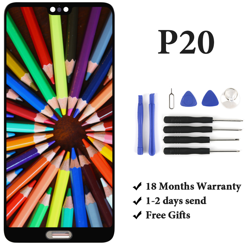 Good quality with warranty For huawei P20 EML AL00 lcd display For mobile phone lcd screen