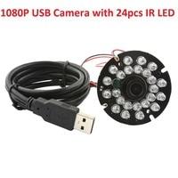 2 0 Megapixel 1920 X 1080P 8mm IR Sensitive 850nm Lens Cctv Camera Board Android