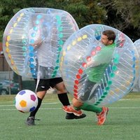 1.2m 1.5m 1.8m Inflatable Bumper Ball Body Zorb Loopyball Bubble Ball For Sale Inflatable Toys soccer ball