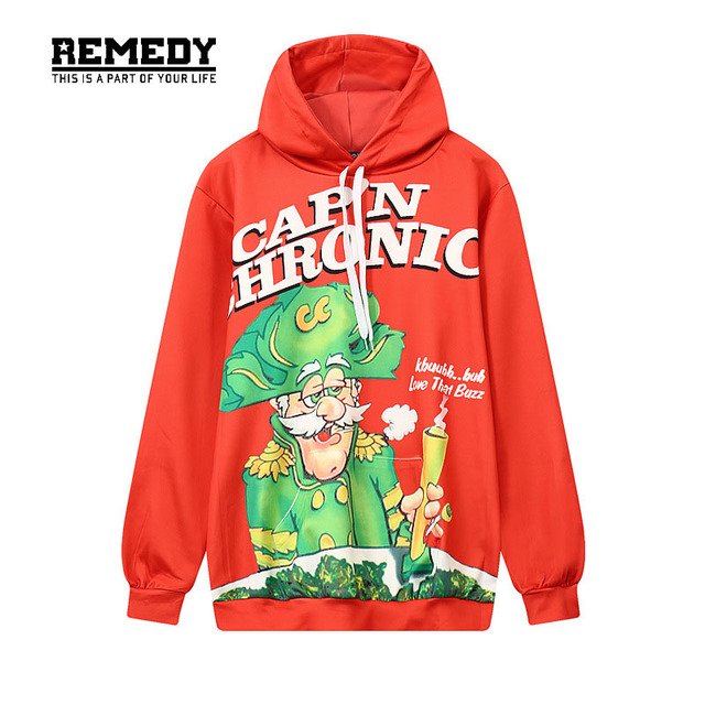 58a7d7418c9 Letters Print Chronic Hoodie 3D Cartoon Character Graphic Hooded Men Women  Funny Hoodies Tracksuit Fashion Casual Tops Hoody