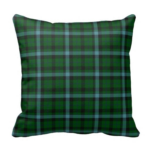 Worse Green And Blues font b Tartan b font Plaid Pattern Throw Pillow Case Size 45x45cm