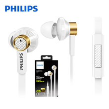 Philips SHE6000 Sport Headset In-Ear Running Earphone with Bass Stereo 1.2m Cable Length for Huawei Xiaomi Galaxy With Free gift(China)