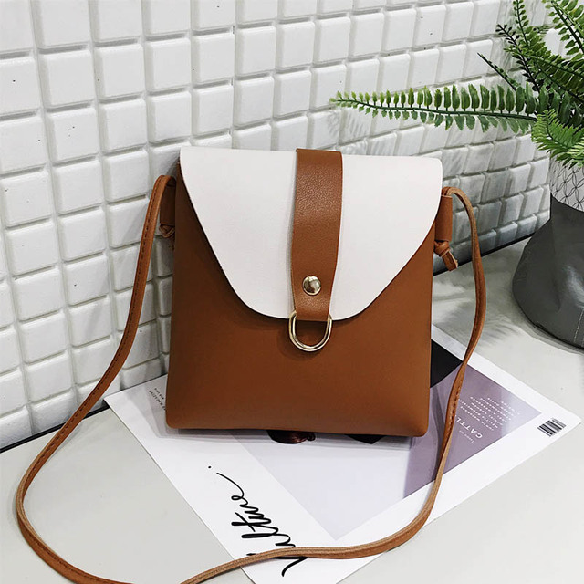 7606acdc9389 2018 Ladies Tassel Design Women PU Leather Crossbody Messenger bag Small  Sling Shoulder Bags Fold Closure Handbag Purses