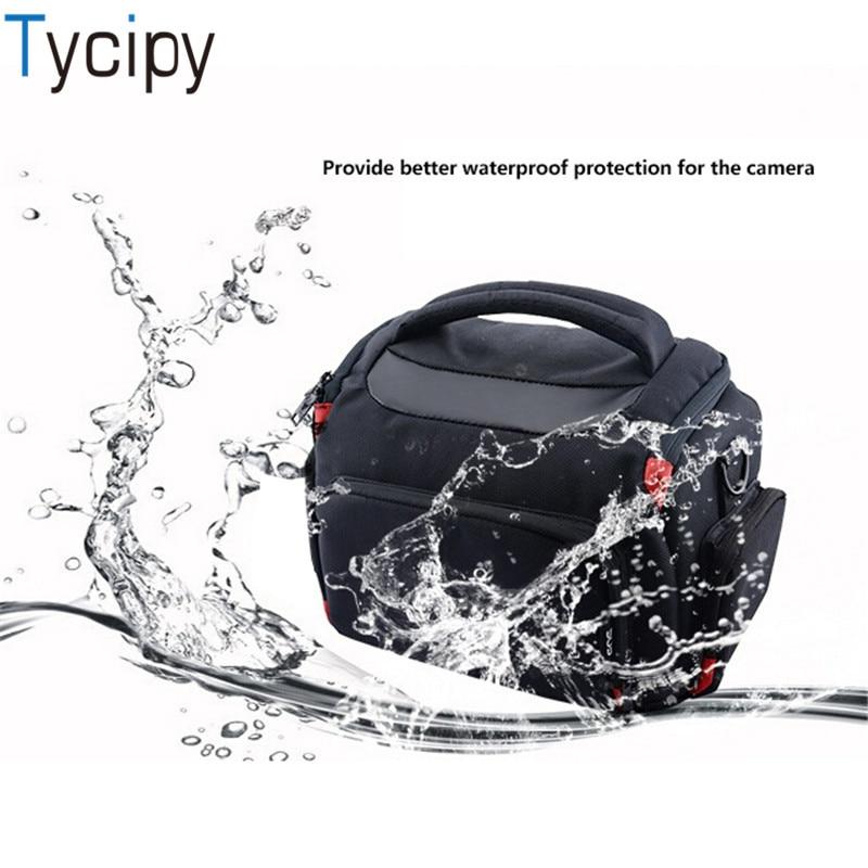 Tycipy Nylon Camera Bags DSLR Lens Battery Handbags for Sony Canon Nikon Outdoor Travel Woman Men Camera Bags Fashionable