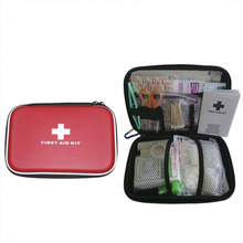 18pcs First-aid Kit Package Emergency Bag EVA Portable Travel Outdoor Sports Camping Survival Medicine Bag Sort Out Storage