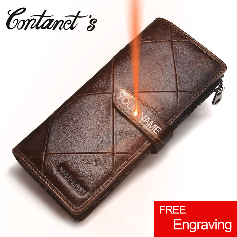 2018 Genuine Leather Wallets Clutch Men Patchwork Purse And Cellphone Wallet Long Luxury Brand Coin Bag Card Holder Retro Style 2017 luxury brand men genuine leather wallet top leather men wallets clutch plaid leather purse carteira masculina phone bag