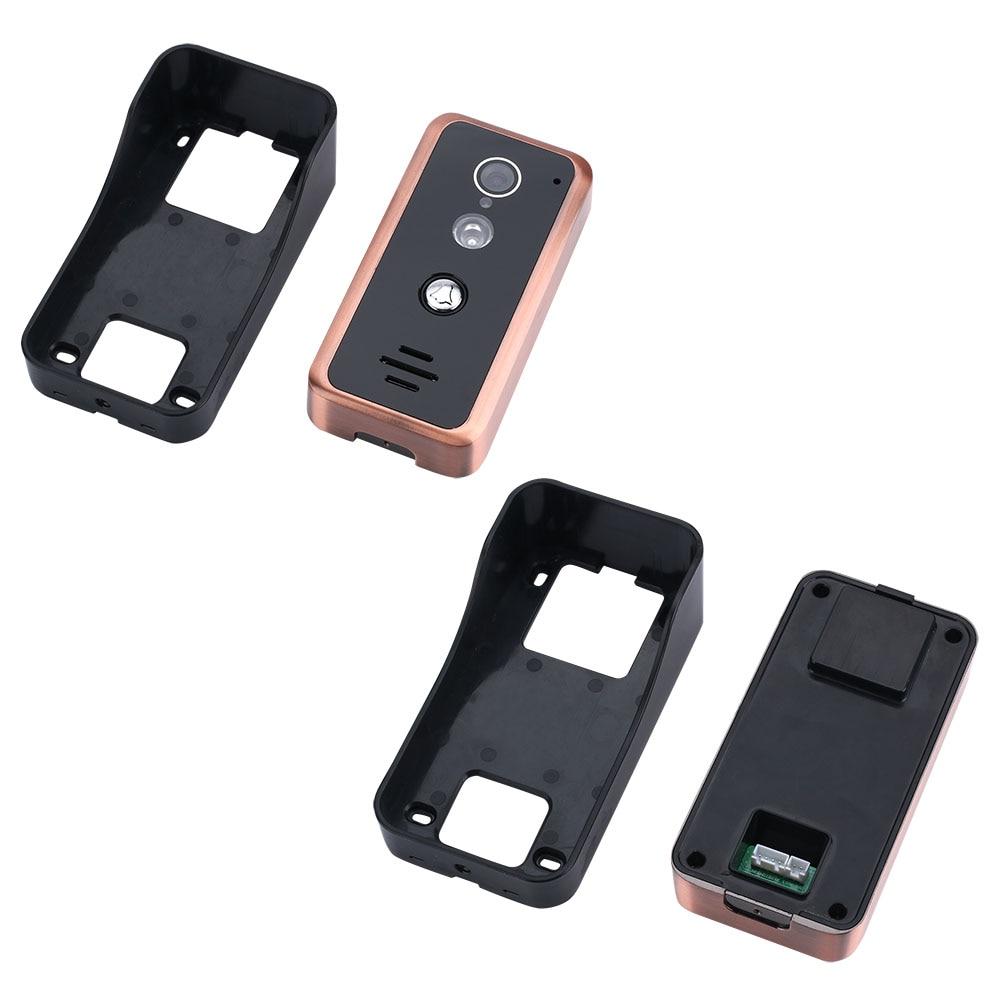 Polegada 2 9 Monitores Com Fio Wifi Wired Vídeo Porta Telefone Campainha Intercom Sistema De Entrada com 1000TVL IR CUT Câmera - 6