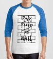 hipster plus size raglan harajuku brand clothing 2017 funny pink floyd T Shirts Men Cotton O Neck three-quarter sleeve camisetas