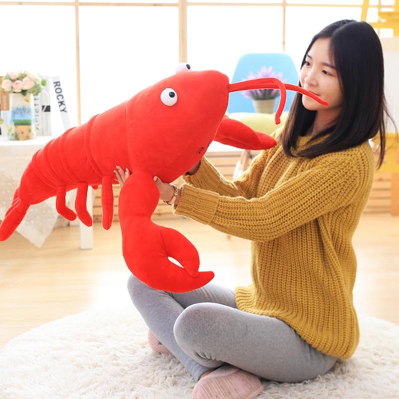 Girlfriend Birthday Gift Crayfish Plush Soft Toy Lobster Doll Funny Weird Plushies Cute Stuffed Animal Boyfriend Present 1pcs In Animals