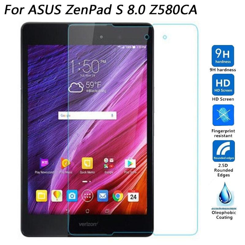 Tempered Glass For Asus ZenPad 3 / Z8 / ZT581KL Z581KL / ZenPad3 8.0 inch / ZenPad S Z580 Z580CA Z580C Tablet Protective Film|Phone Screen Protectors| |  - title=