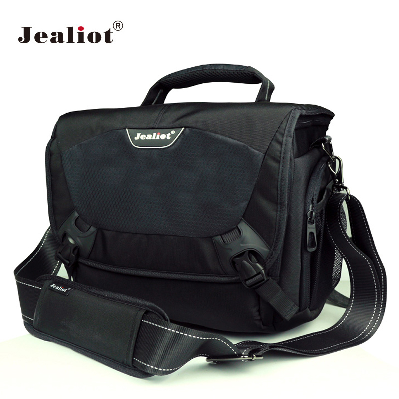 Jealiot DSLR SLR Camera bag Fashion Shoulder Bag waterproof digital Camera lens foto Case for Canon Nikon Sony Olympus Panasonic 2018 jealiot waterproof camera bag dslr slr shoulder bag video photo bag lens case digital camera for canon nikon free shipping