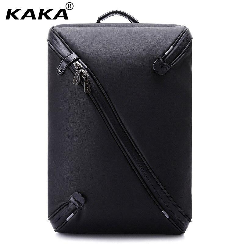 KAKA Brand Men Pattern 15.6 Laptop Backpacks Women 3D Waterproof Business Backpack Travel Fashion Luggage Bags Unfold Fully yeso brand 2017 waterproof oxford business backpack men the knapsack travel school backpacks women professional big capacity