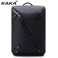 KAKA Brand Men Pattern 15.6 Laptop Backpacks Women 3D Waterproof Business Backpack Travel Fashion Luggage Bags Unfold Fully