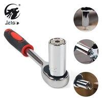 Jelbo 2pcs Lot 3 8 Flexible Ratchet Wrench Set Sleeve 24 Teeth CR V Repair Tools