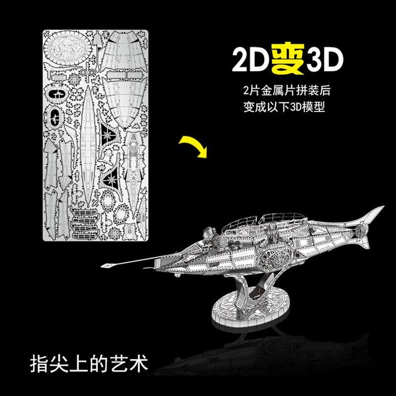 2018 წლის ნანუანის 3D მეტალის - ფაზლები - ფოტო 4