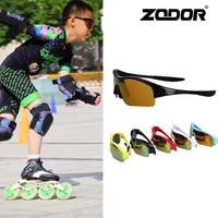 Kids Speed Skating Glasses Children Teenager Skateboard Inline Speed Skates Race PC Glass wear Eyewear Age under 18 years old